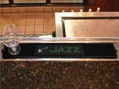 Drink and Bar Mat - Utah Jazz
