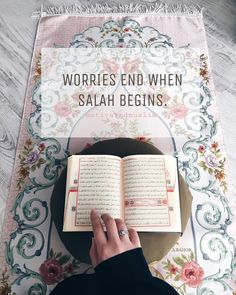 Worries end when salah begins Islamic Qoutes, Islamic Inspirational Quotes, Muslim Quotes, Quran Wallpaper, Islamic Quotes Wallpaper, Islam Muslim, Islam Quran, Islam Beliefs, Islam Religion