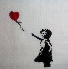 Banksy http://mira-bell.blogspot.de/2016/08/dziewczyna-z-balonem.html