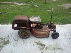 Antique Simplicity Riding Mower