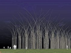 Designed by the late artist Giuliano Mauri, Italy's 'tree cathedrals' are towering organic works of beauty.
