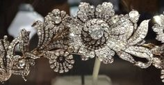 Methuen Diamond Floral Tiara bought by Marjorie Merriweather Post and donated to the Smithsonian Institution
