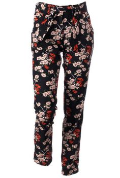Nancy Dee Beth Cherry Blossom Trousers - £79.00 www.naturalcollection.com