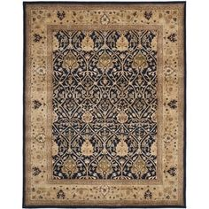 Shop for Safavieh Handmade Persian Legend Blue/ Gold Wool Rug (9' x 12'). Get free shipping at Overstock.com - Your Online Home Decor Outlet Store! Get 5% in rewards with Club O! - 18658797