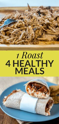 How to quickly Turn 1 Roast into 4 Easy Energy Boosting Meals with Lean Beef | Plate Full of Grace