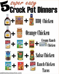 40 Delicious Crock Pot Dump Meals in 4 Hours   The WHOot
