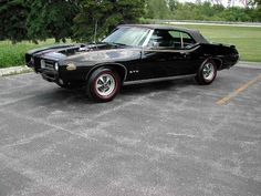 1969 GTO Judge convertible. Only 108 were built, but how many in black?