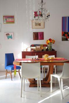 Estilismo:Ana Markarian,Fotos: Pompi Gutnisky. Dining Table, Furniture, Home Decor, Pictures, Decoration Home, Room Decor, Dinner Table, Home Furnishings, Dining Room Table