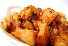 Stir-Fried Honey Ginger Chili Chicken