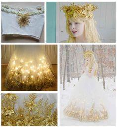 Christmas angel dress by Angela Clayton.