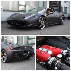 The Ferrari 458 is a supercar with a price tag of around quarter of a million dollars. Photos, specifications and videos of the Ferrari 458 My Dream Car, Dream Cars, Classy Cars, Sweet Cars, Top Gear, Amazing Cars, Awesome, Ferrari 458, Hot Cars
