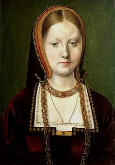 Catherine of Aragon as a Spanish Princess, copy of the Sittow portrait.