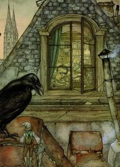 Anton Pieck, Art Inspo, Fairy Tales, Beautiful Pictures, Sketches, Painting, Netherlands, Illustrations, Google