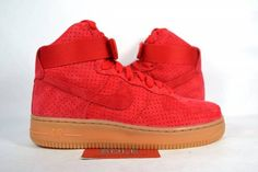 8366aa4bab7a4 NEW Women s Nike Air Force 1 HIGH UNIVERSITY RED SUEDE GUM 749266-601 sz 7.5