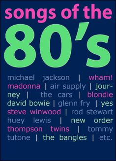 Love the 80s
