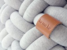 Decorative Pillows and Poufs Knotty by Kumeko, Modern Furniture and Decor – 2019 - Fabric Diy Furniture Logo, Furniture Decor, Modern Furniture, Furniture Design, Mirror Furniture, Furniture Showroom, Italian Furniture, French Furniture, Classic Furniture