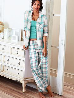Dreamer Flannel Pajama - Victoria's Secret