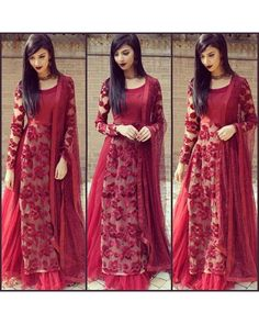 Beautiful embroidered Maroon Party wear lehenga - Beautiful embroidered Maroon Party wear lehengaLehenga Fabric : net with silk innertop : banglory silk and netDupatta : net ( embroidered Maroon Party wear lehenga - Beautiful embroidered Maroo Indian Gowns, Indian Attire, Indian Wear, Party Wear Lehenga, Party Wear Dresses, Sari, Lehenga Choli, Floral Lehenga, Lehenga Suit