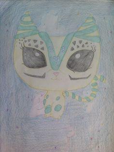 LPS tekening Alien Cat from LPSAce