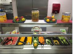 Look at those beautiful fruits and veggies at Giddens Elementary! #NSLW #snapshot #schoolmealsmatter @GiddensJaguars