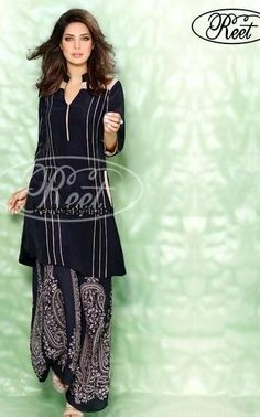 Reet Winter Fall Eid Dresses 2013 for Females 5 Reet Winter Fall Eid Dresses 2013 for Females