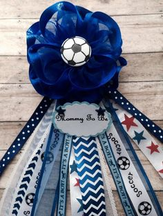 Soccer Theme Navy Blue Chevron Baby Shower by AlittleSweetBowtique Baby Shower Sash, Baby Shower Brunch, Boy Shower, Baby Shower Parties, Baby Shower Themes, Shower Ideas, Baby Boy Soccer, Soccer Baby Showers