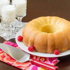 Old Fashioned Hot Milk Cake is a light and fluffy vanilla cake. This Depression-Era treat is made from simple ingredients and perfectly sweet.