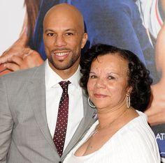 Photo of Common  & his  Mother  Dr. Mahila Ann Hines