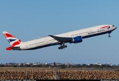 British Airways Boeing 777-36N/ER (registered G-STBC)