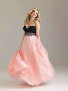 Black And Pink Mix Dress