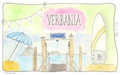 Feriolo en Verbania. #illustratie #artjournal #watercolour #vakantie #italie #Sandysign. http://sandysign.nl