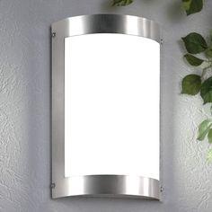 2 x Halogen Au/ßen-Wandleuchte Bergen Wandlampe Edelstahl up and down GU10 35W Hausbeleuchtung Leuchte hochwertig