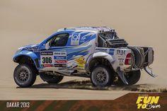 Toyota Dakar 2013 - DakarCorse wheels by Evo Corse #evocorse #wheels #dakar