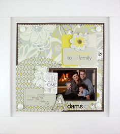 Love the #scrapbooking page displays - change them every season