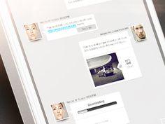 Cool chat UI