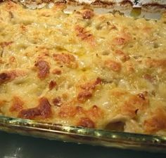 Chicken Dumpling Casserole - a new twist on the southern Sunday favorite!