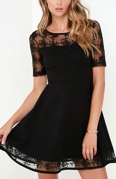 Black Swan Clarice Black Dress