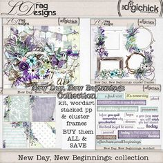 New Day, New Beginnings: Collection by LDrag Designs