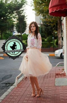 How to Make Tulle Skirts Look Classy and Grown-Up