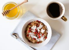High Protein Breakfast Recipes: Peanut Butter OatmealThe LUXE Life