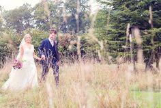 Countryside wedding photograph at Clock barn wedding. Photography by one thousand words wedding photographers www.onethousandwords.co.uk