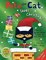 "Your kids will love this Pete the Cat inspired activity! We have been reading many of the ""Pete the Cat"" books by Eric Litwin and the latest book we read was ""Pete the Cat: I Love My White Shoes. In this book, Pete the Cat takes a walk Christmas Books For Kids, The Night Before Christmas, Christmas Art, Christmas Ideas, Holiday Ideas, Winter Holiday, Christmas Countdown, Winter Time, Holiday Fun"