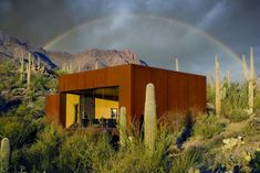 Desert Nomad House in Arizona by Rick Joy Architects.