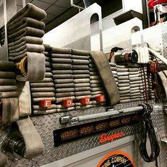 now that's a great looking hoseload! Firefighter Training, Firefighter Paramedic, Wildland Firefighter, Firefighter Quotes, Volunteer Firefighter, Fire Dept, Fire Department, Fire Hall, Fire Training