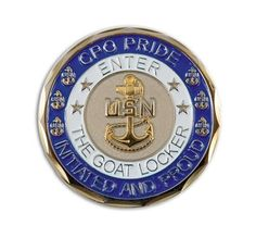 Navy Chief Petty Officer Challenge Coin