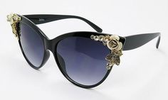 Flower Cat Eye Sunglasses