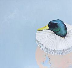 Merlin | Malerei von Jill Tegan Doherty | Öl auf Holz