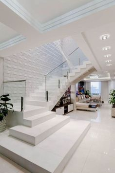 52 Best Home Stairs Design Ideas Stairs Design Modern design home Ideas Stairs Home Stairs Design, Home Room Design, Dream Home Design, Modern House Design, Modern Houses, Best Home Design, Modern Stairs Design, Stair Design, Railing Design