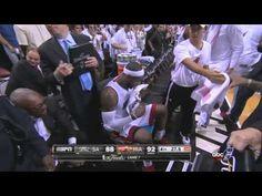 Lebron James clutch shot Heat-Spurs Game 7 #sports