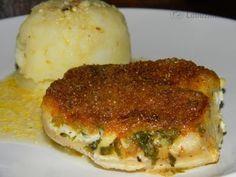 Treska pečená v majonéze recept - Labužník.cz Fish Recipes, Meat Recipes, Recipies, Fish And Meat, Lasagna, Sandwiches, Food And Drink, Ethnic Recipes, Czech Food